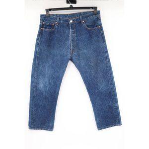 Vintage Levi's men's 37x27 501xx button fly jeans